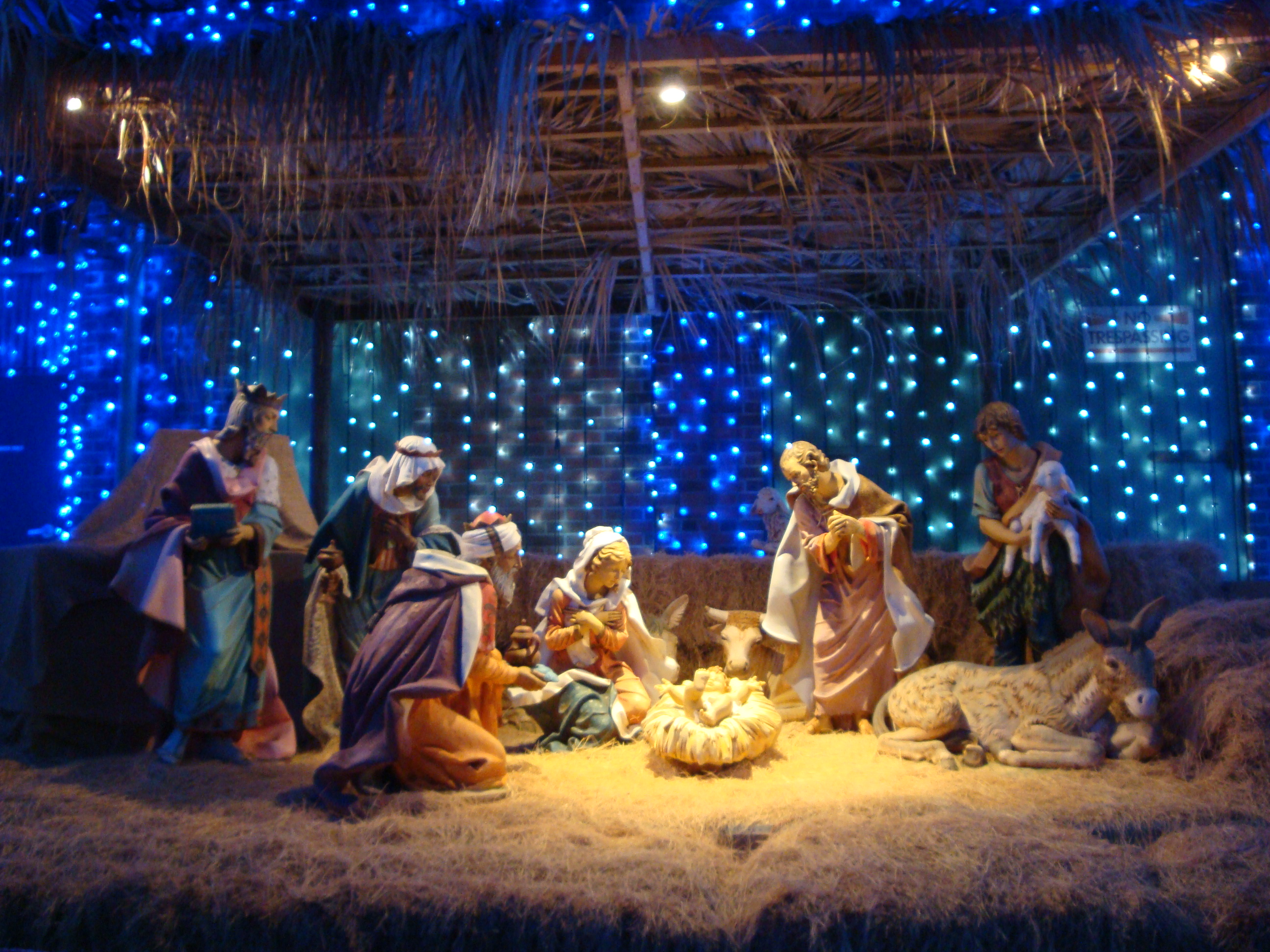Download Christmas Crib Wallpaper Gallery