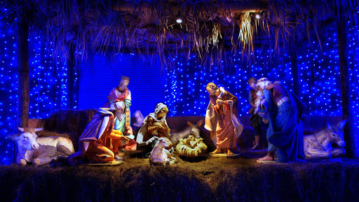 Christmas Crib Wallpaper