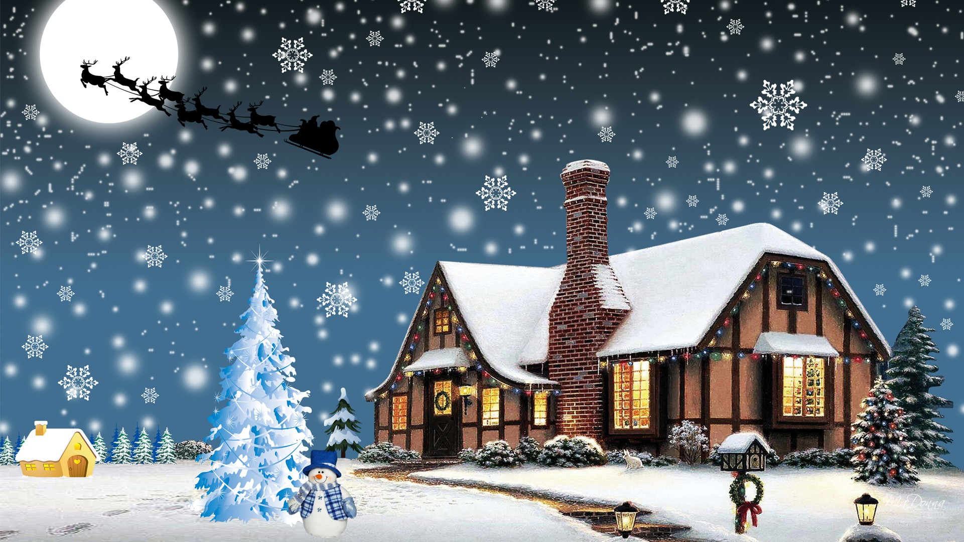 Christmas Eve Wallpaper Free