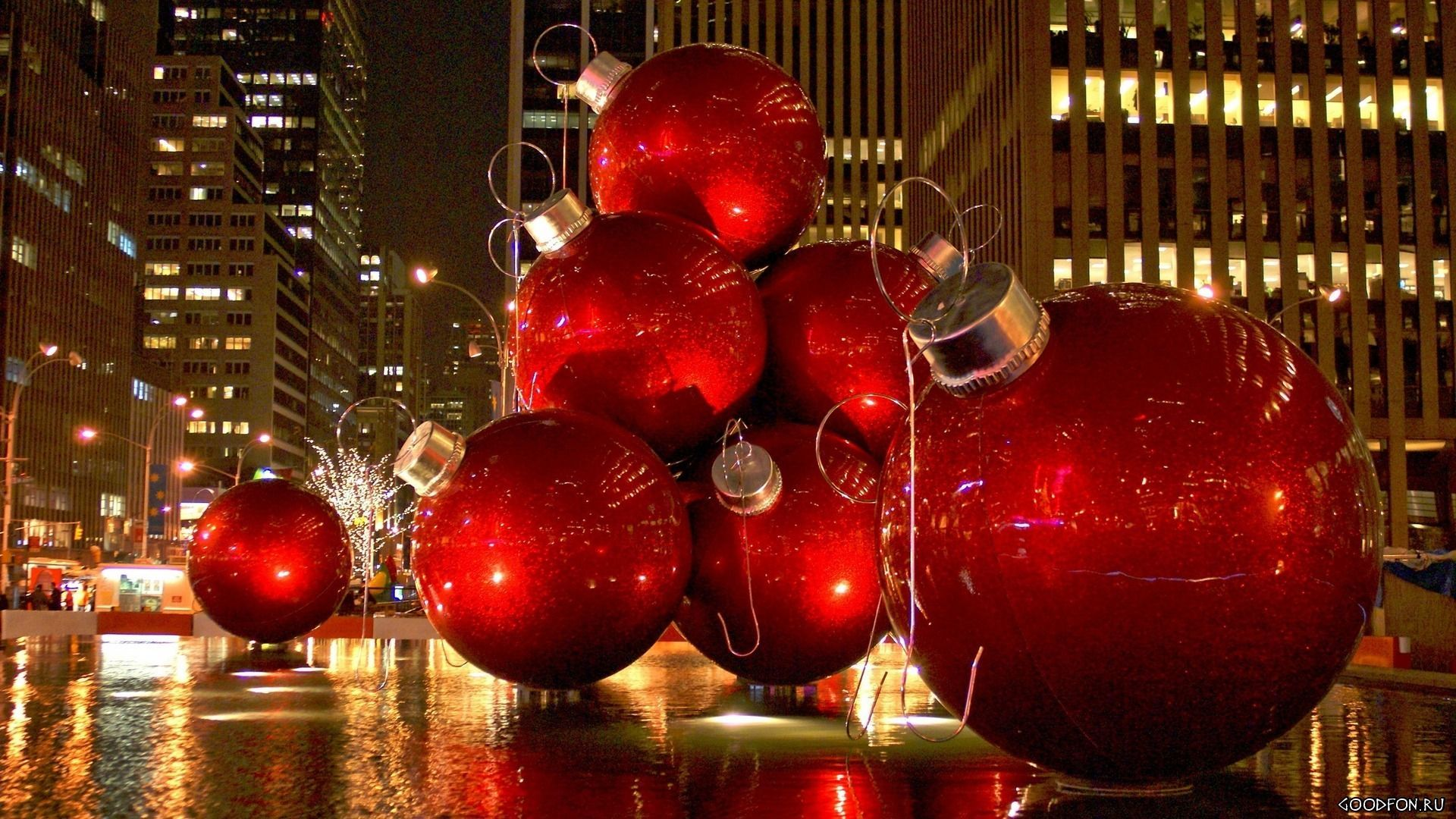 Download christmas in new york wallpaper gallery for New york in christmas 2017