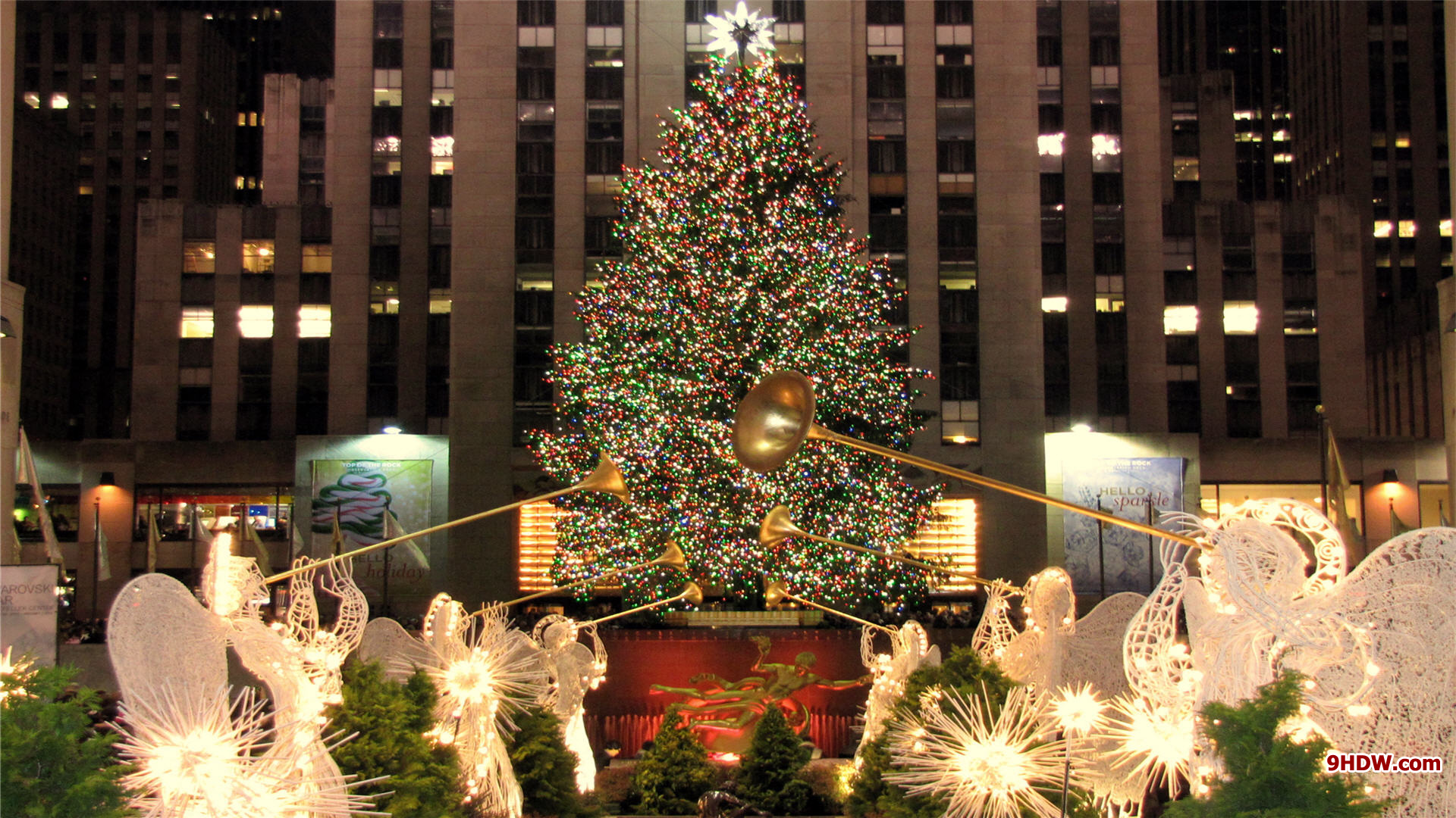 Download Christmas In New York Wallpaper Gallery