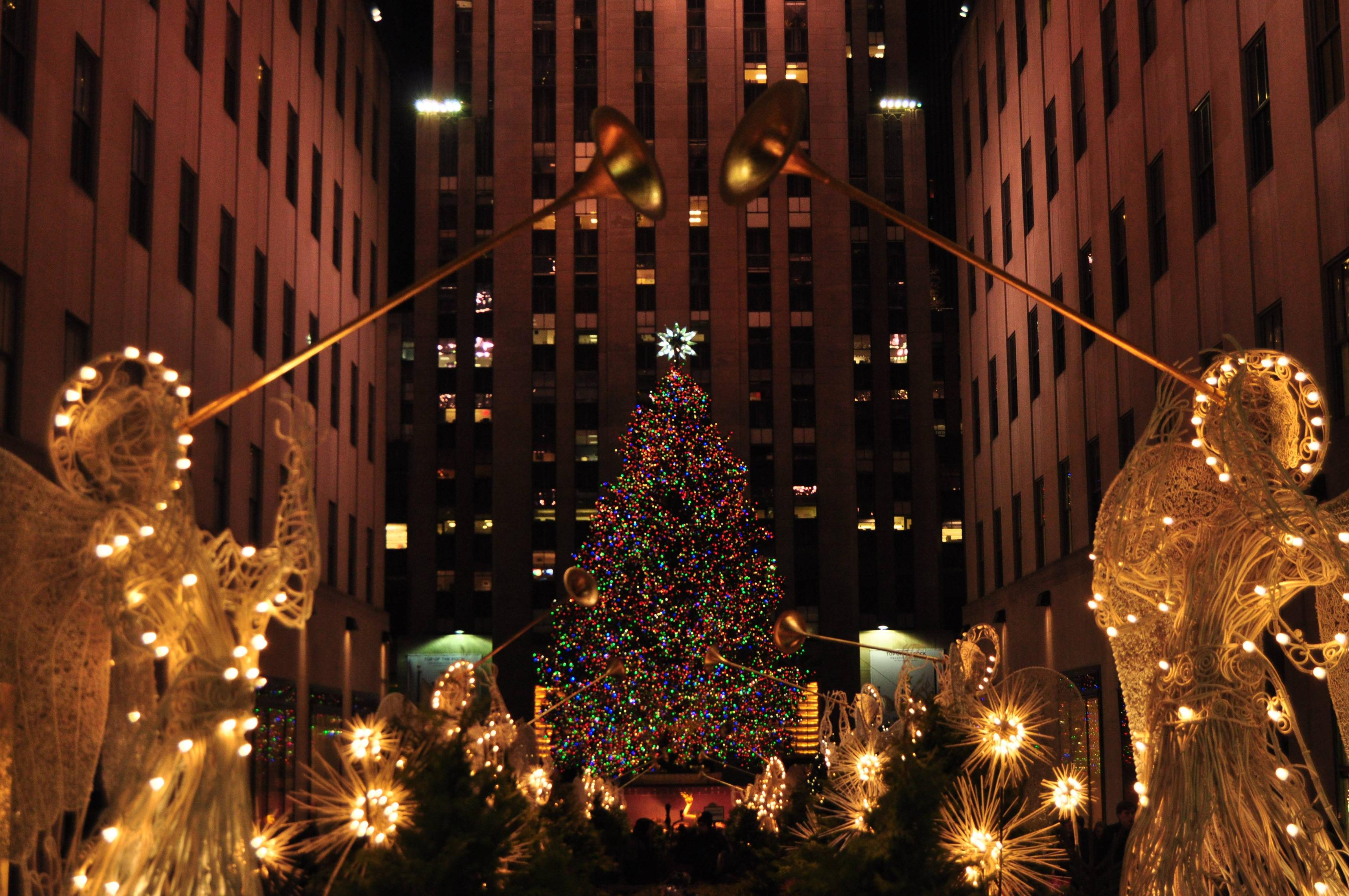 Christmas In New York Wallpaper