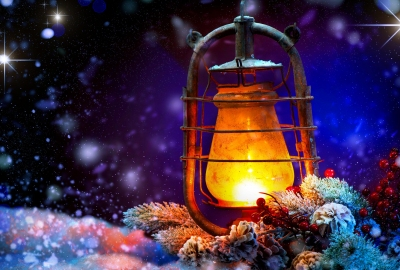 Download Christmas Lantern Wallpaper Gallery