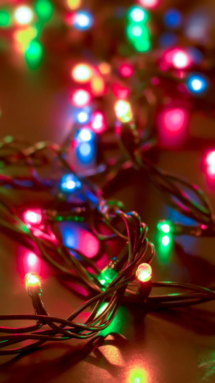 Download Christmas Lights Phone Wallpaper Gallery