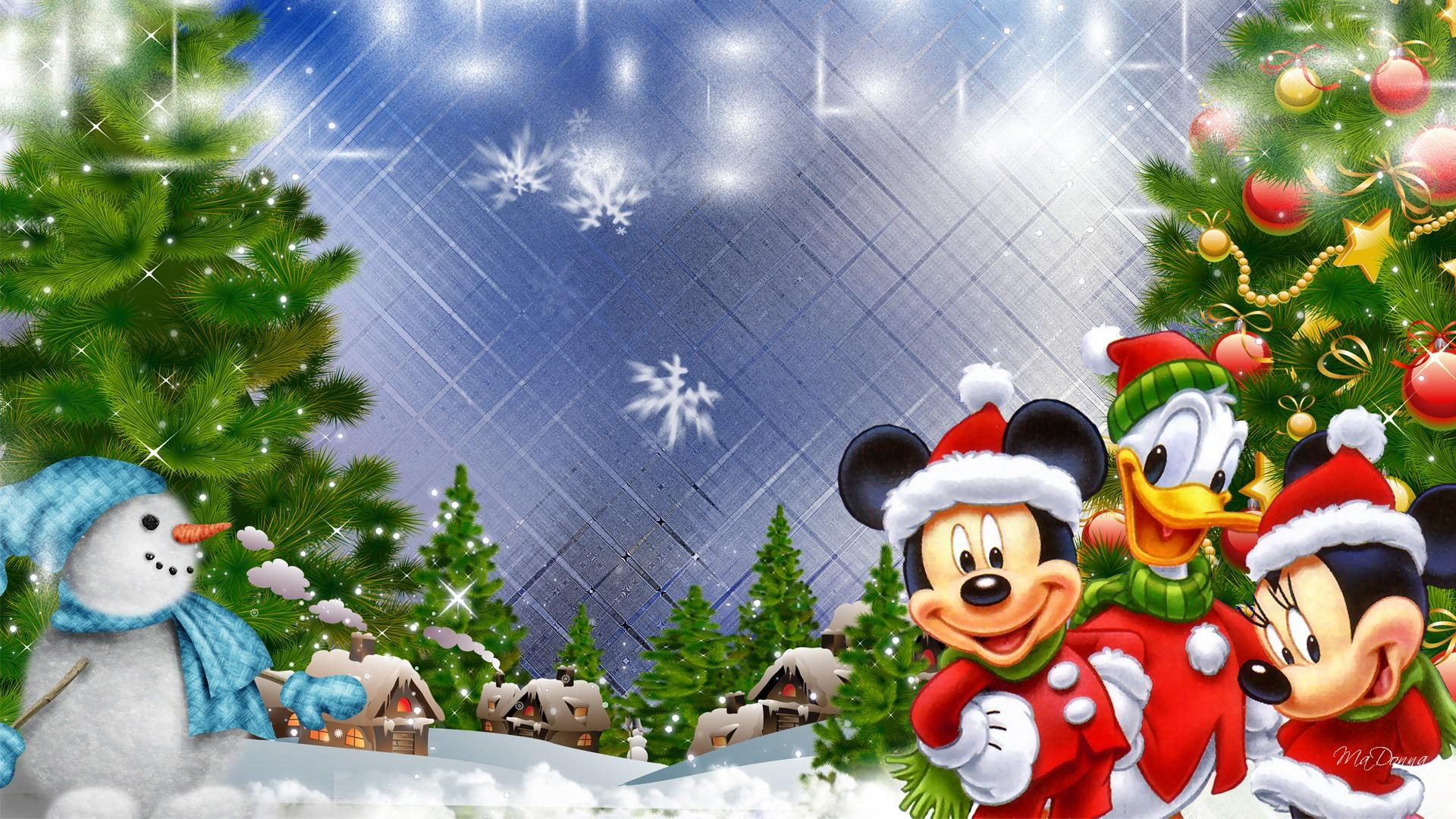 Christmas Mickey Mouse Wallpaper