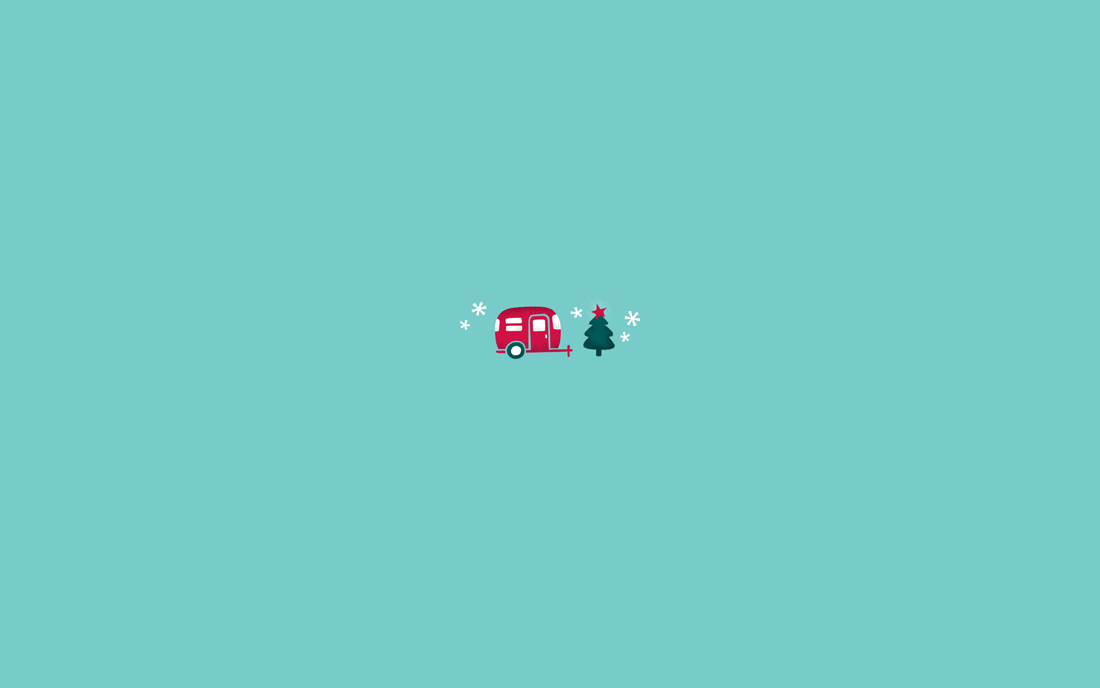 Christmas Minimalist Wallpaper
