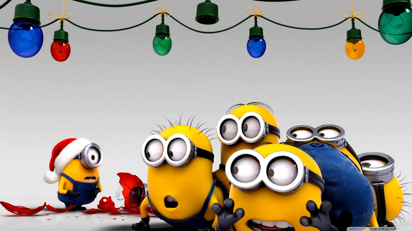 Christmas Minion Wallpaper