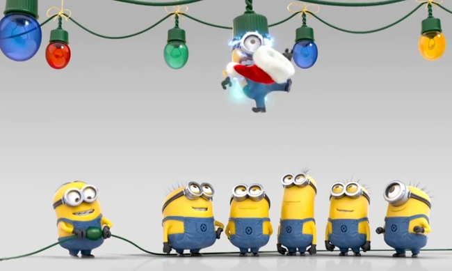 Funny Minion Merry Christmas Wallpapers Sayings: Download Christmas Minions Wallpaper Gallery