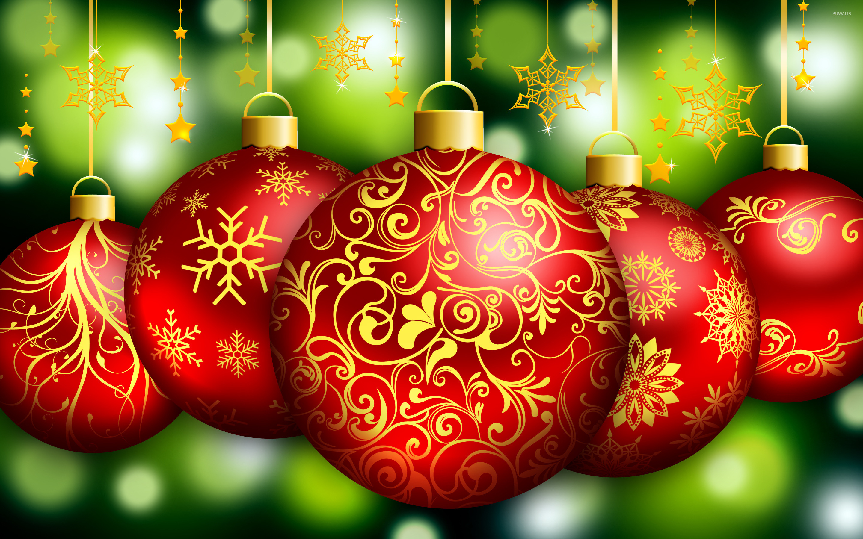 Download Christmas Ornament Wallpaper Gallery