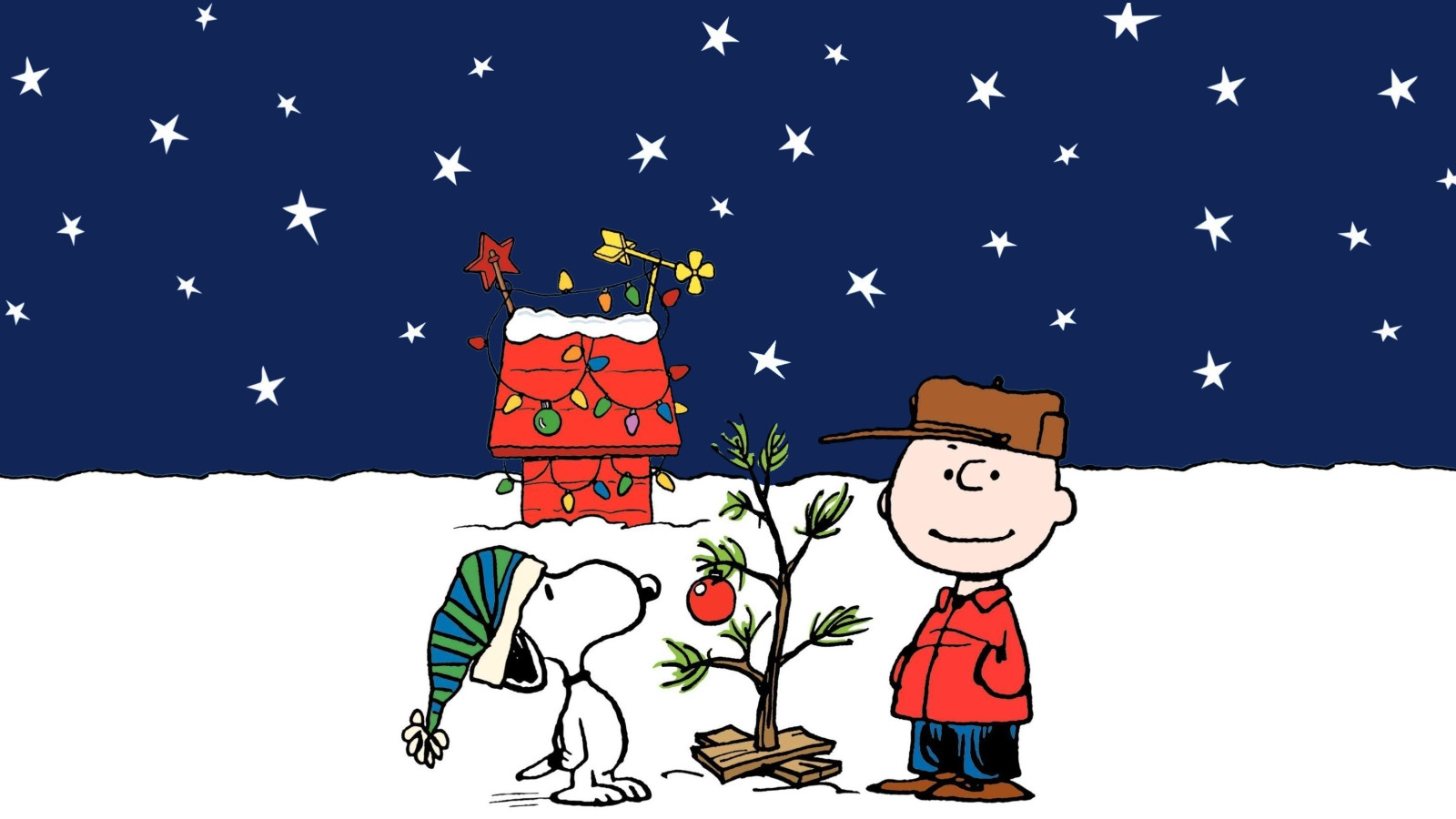 Christmas Peanuts Wallpaper