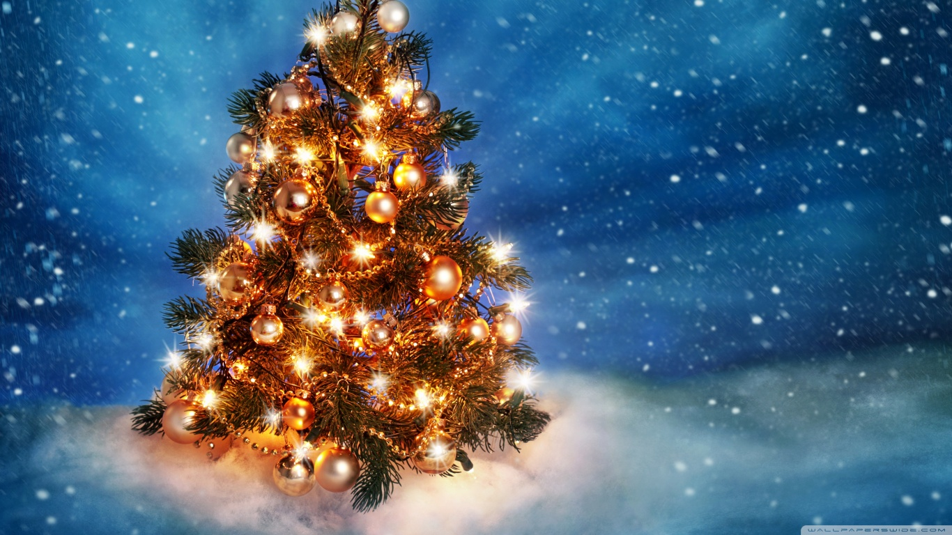 download christmas tree hd widescreen wallpaper gallery