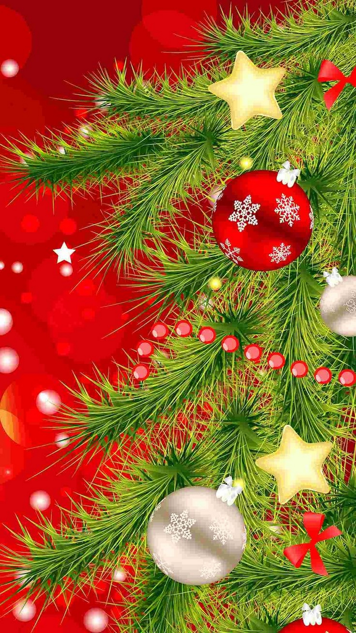 Download Christmas Tree Wallpaper Iphone Gallery
