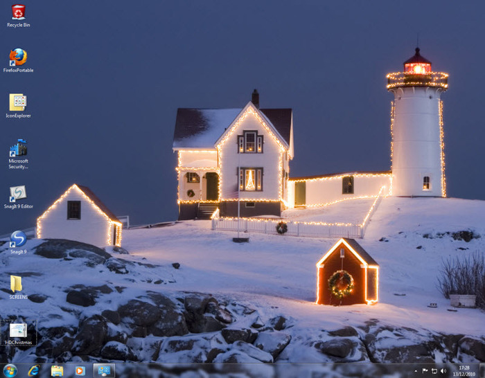Download Christmas Wallpaper For Windows 7 Free Download Gallery