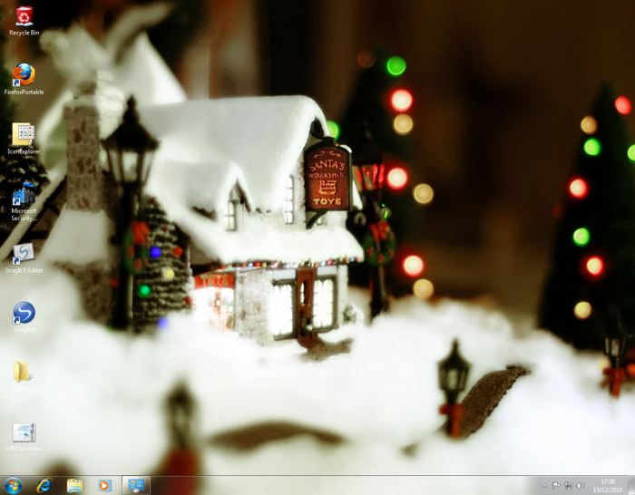 Christmas Wallpaper For Windows 7 Free Download