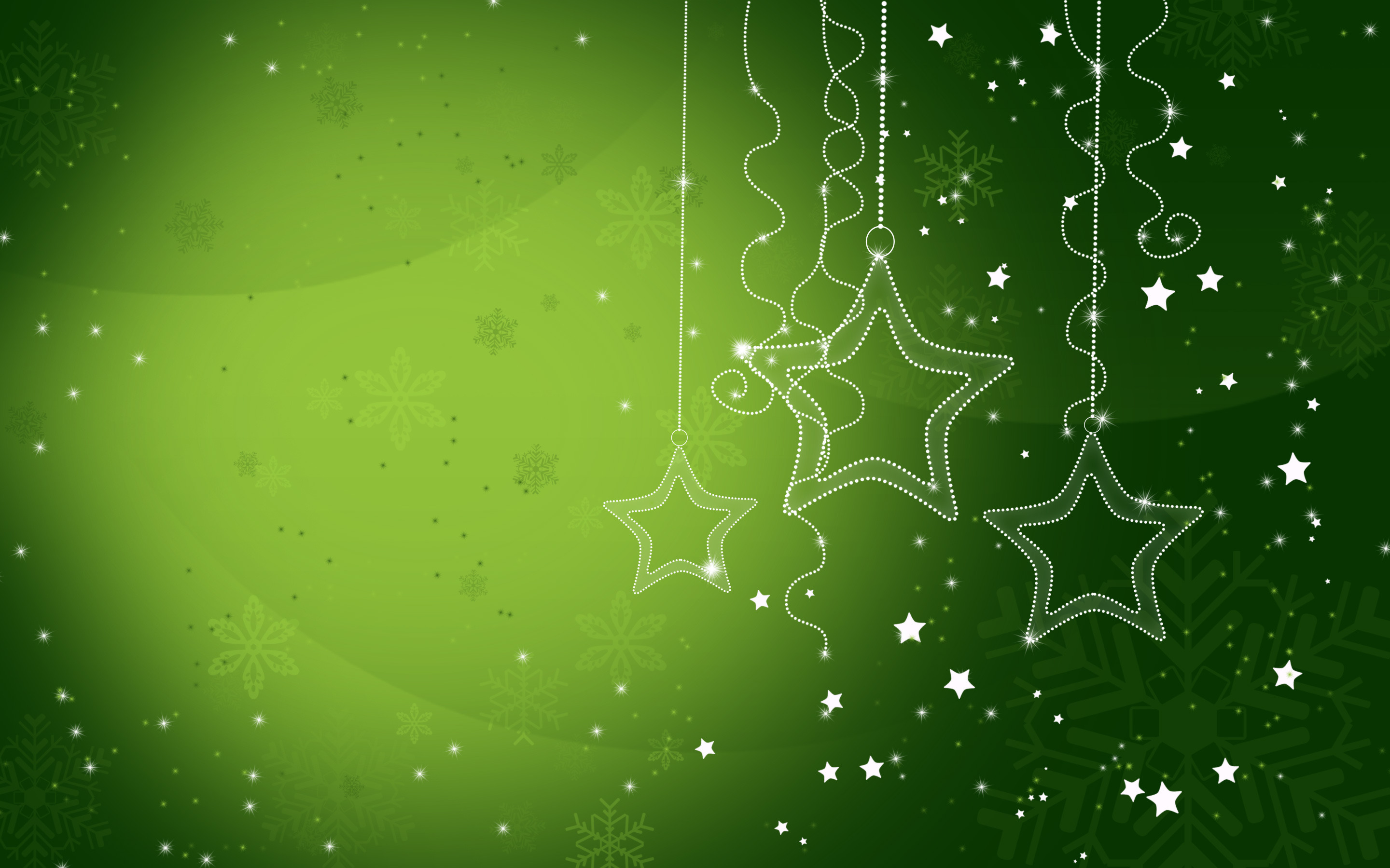 Christmas Wallpaper Green