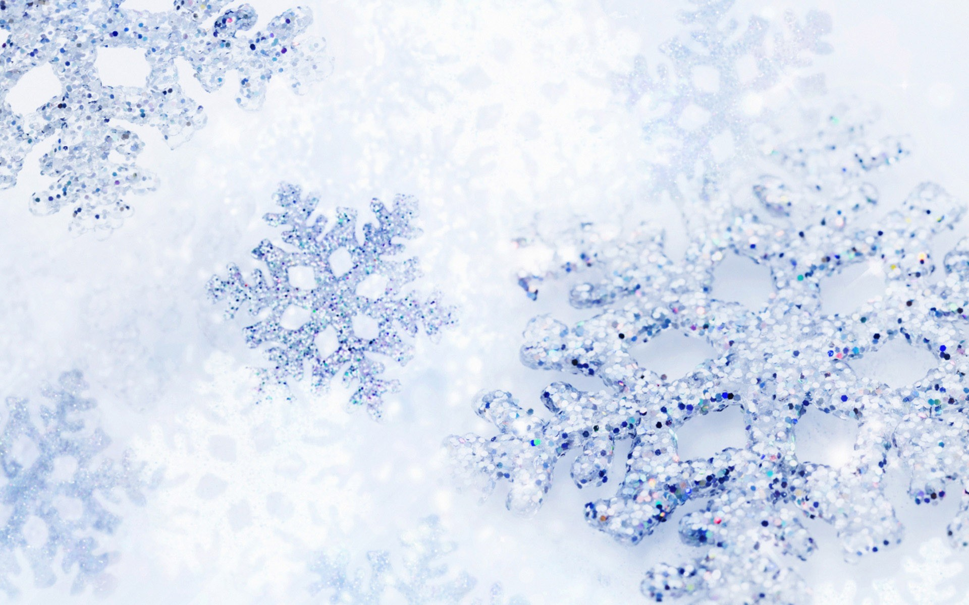 Christmas Wallpaper Snowflakes