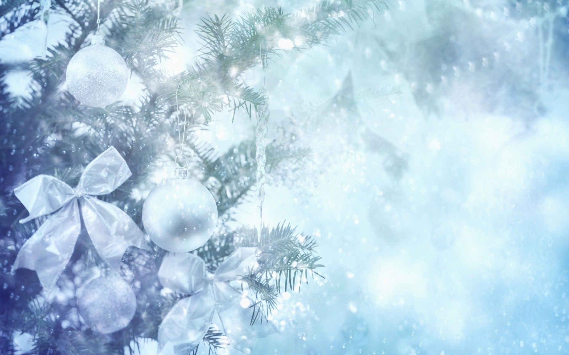Christmas Wallpaper White