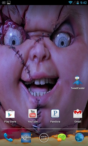 Chucky Doll Live Wallpaper