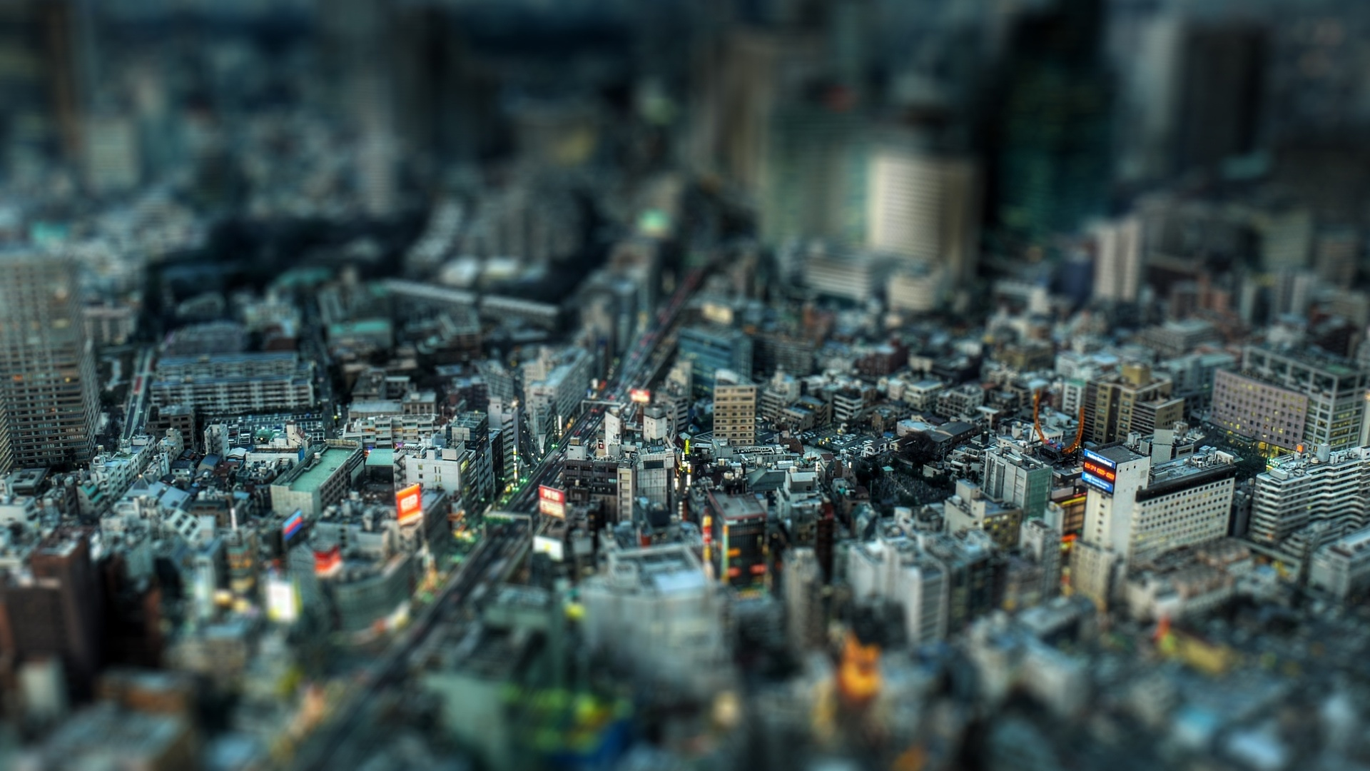 City 3D Wallpaper