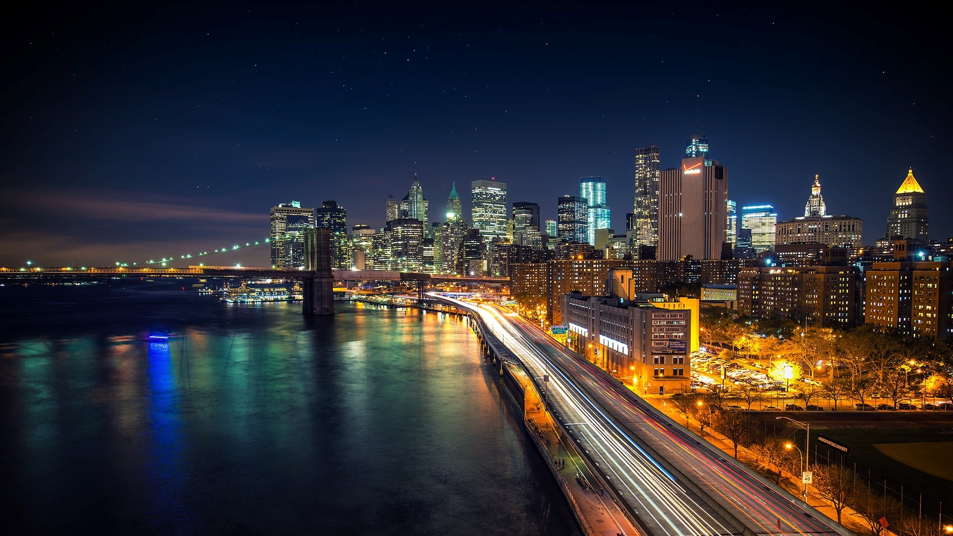 Download City Night View Wallpaper Gallery