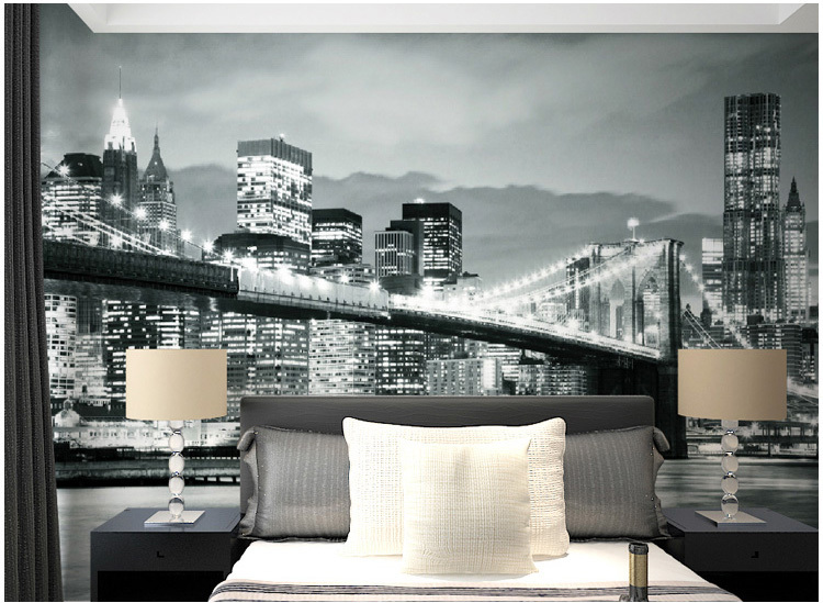 City Wallpaper Bedroom