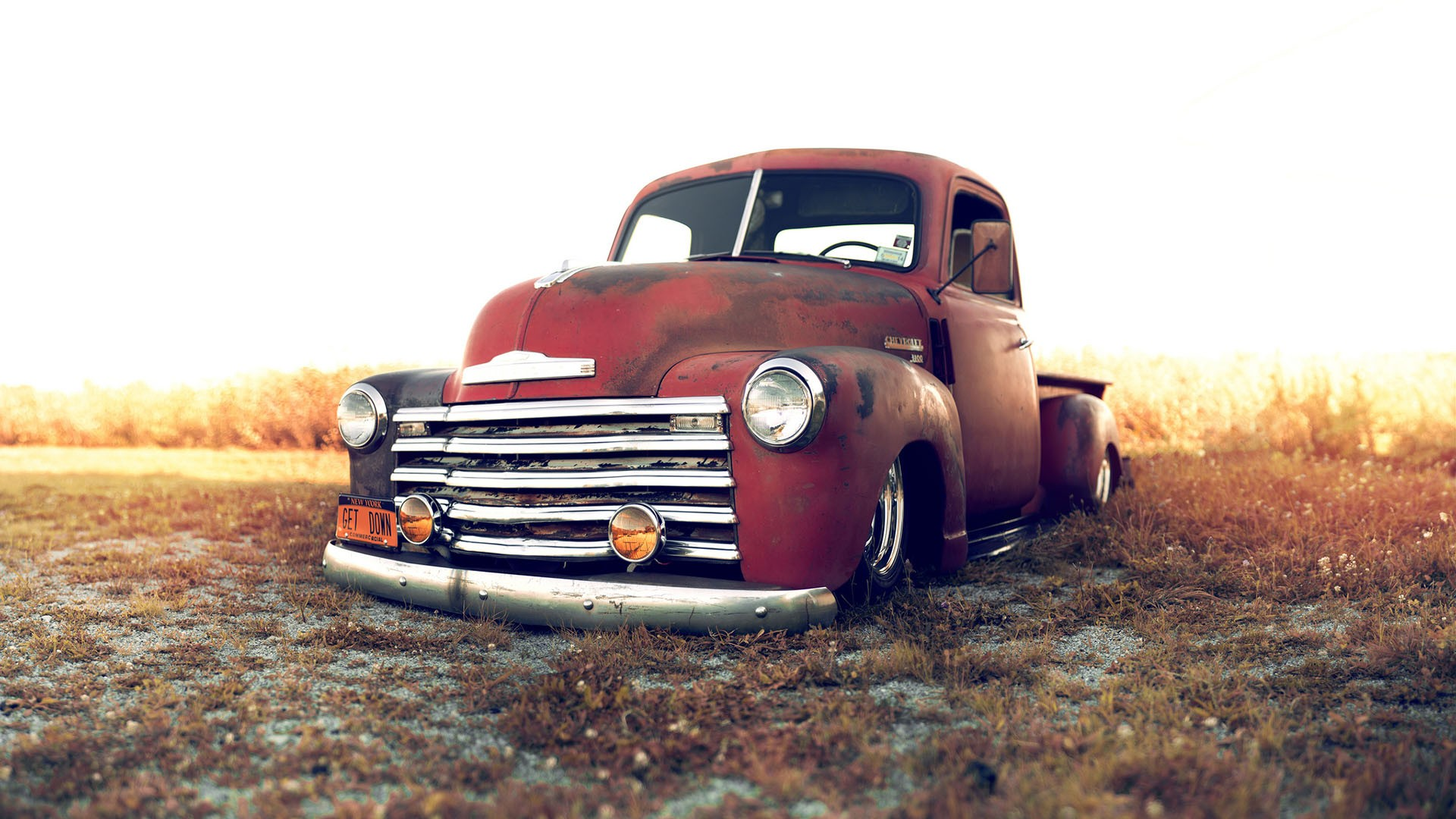 Classic Chevy Truck Wallpaper