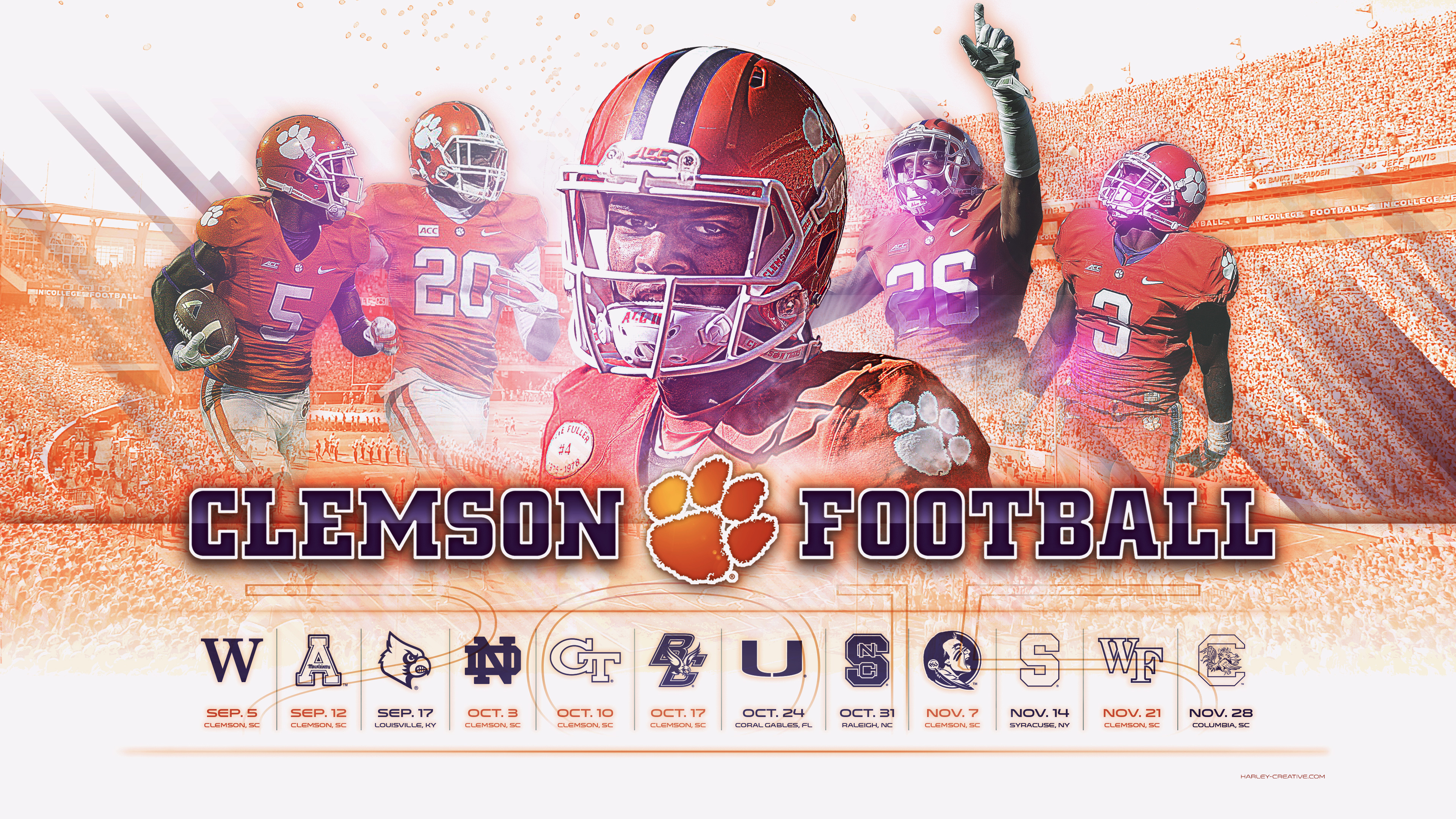 Clemson Football Wallpaper