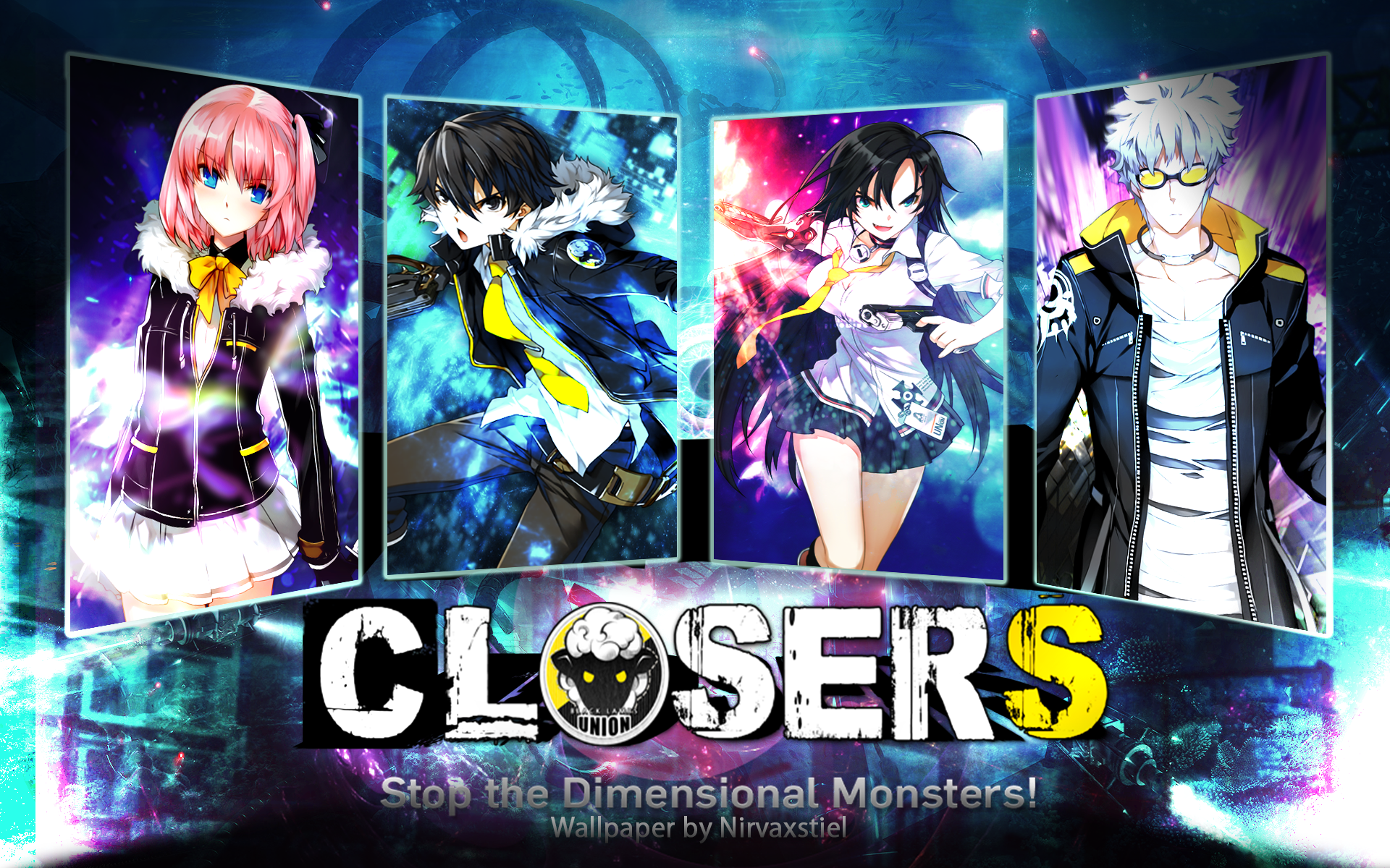 Closers Online Wallpaper