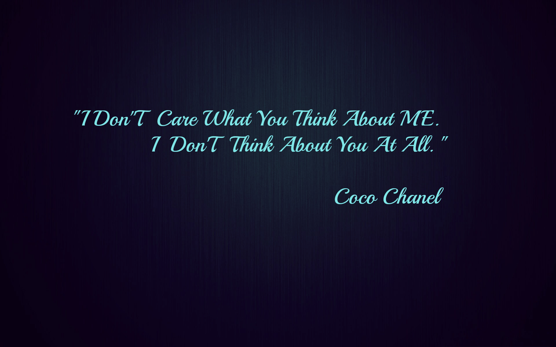 Coco Chanel Quotes Wallpaper