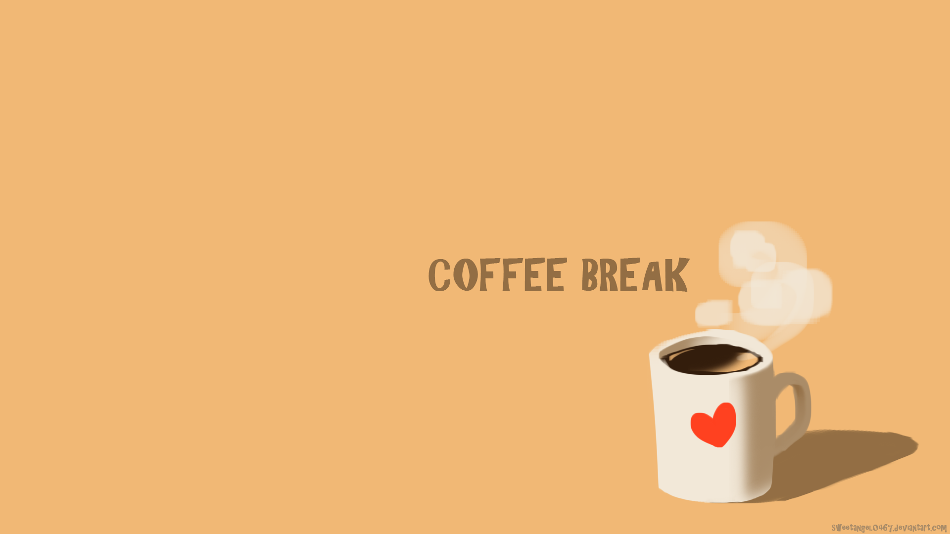 Coffee Break Wallpaper