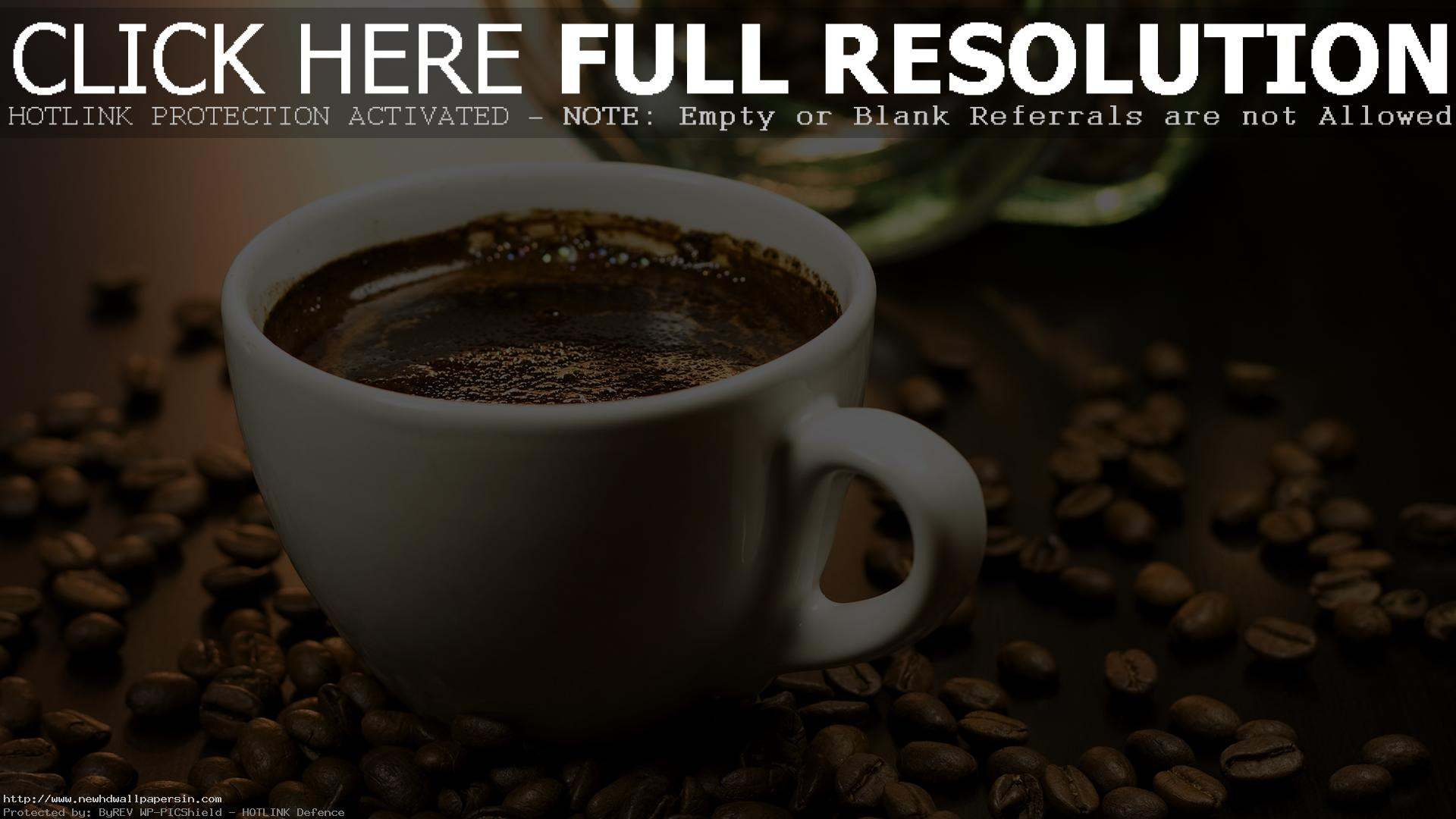 Coffee HD Wallpaper Free Download