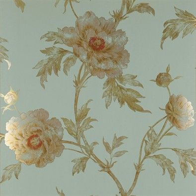 Colefax And Fowler Wallpaper Peacock Tree