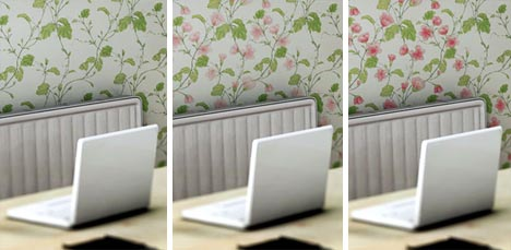 Color Changing Wallpaper