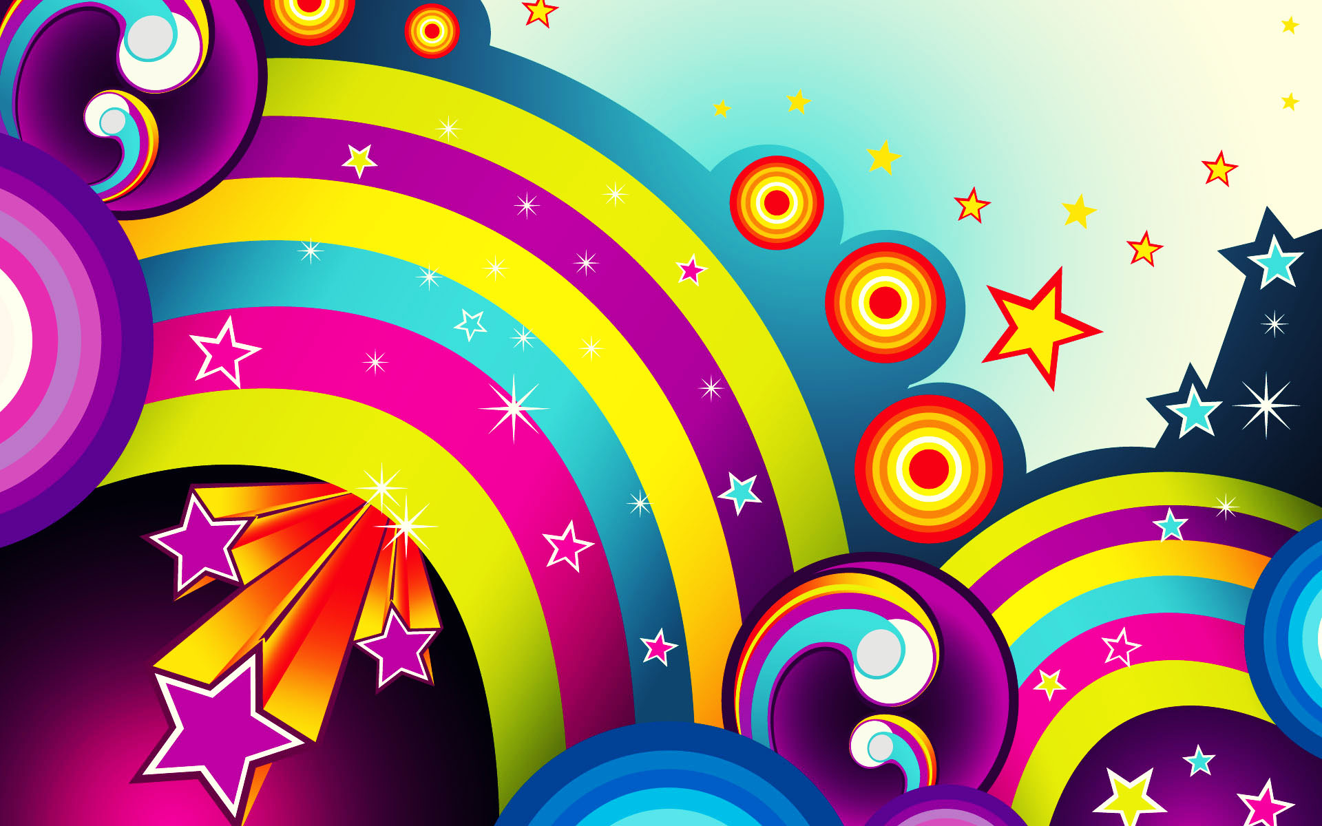 Colorful Abstract Wallpaper