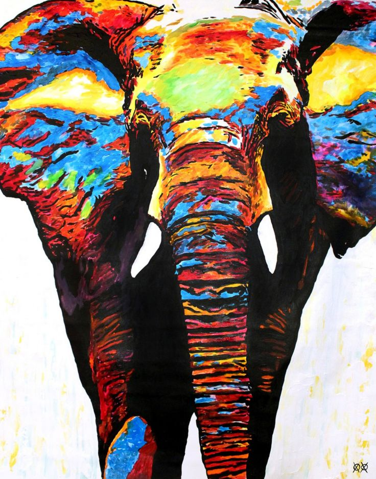 Download Colorful Elephant Wallpaper Gallery