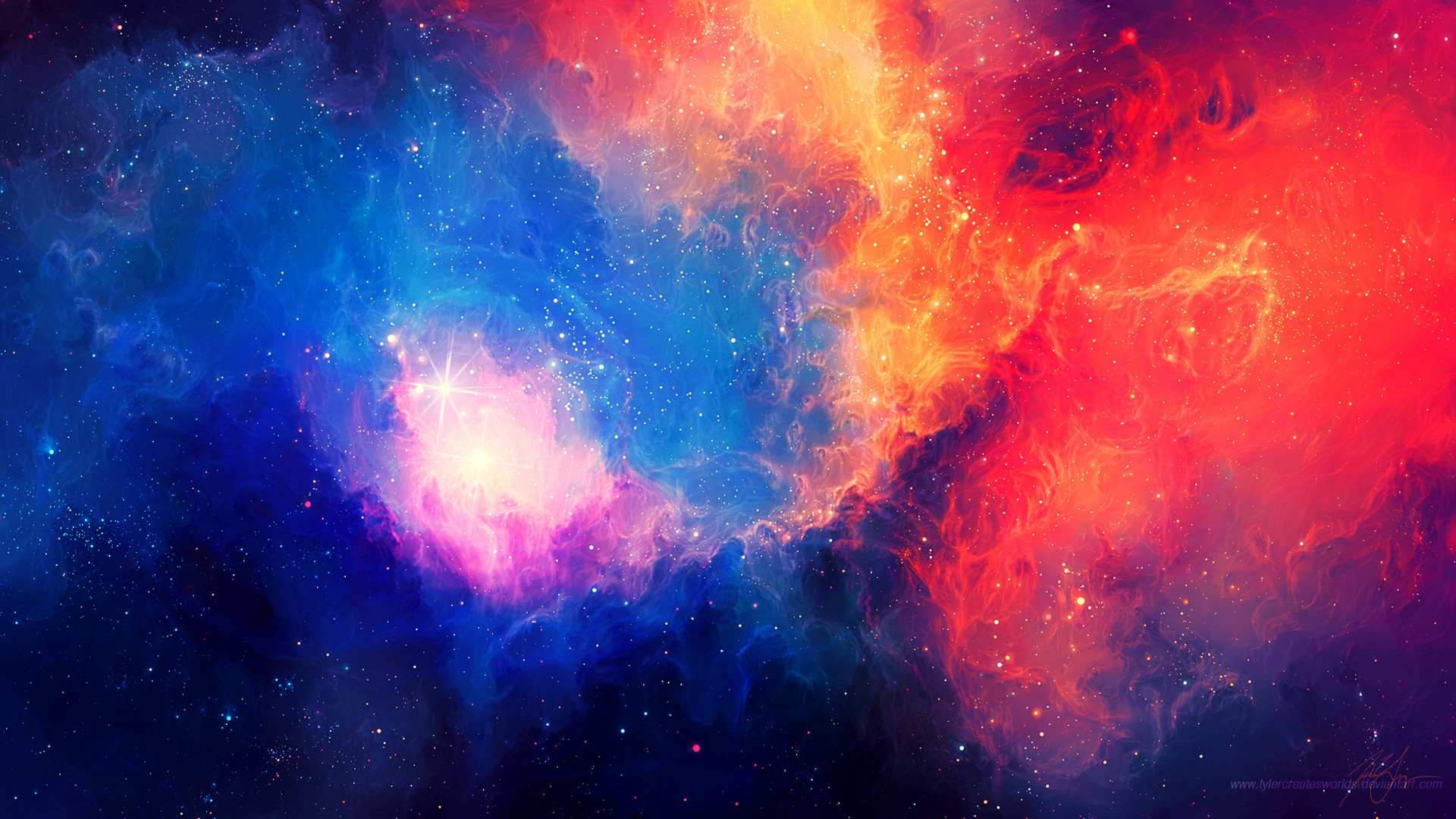 Colorful Galaxy Wallpapers