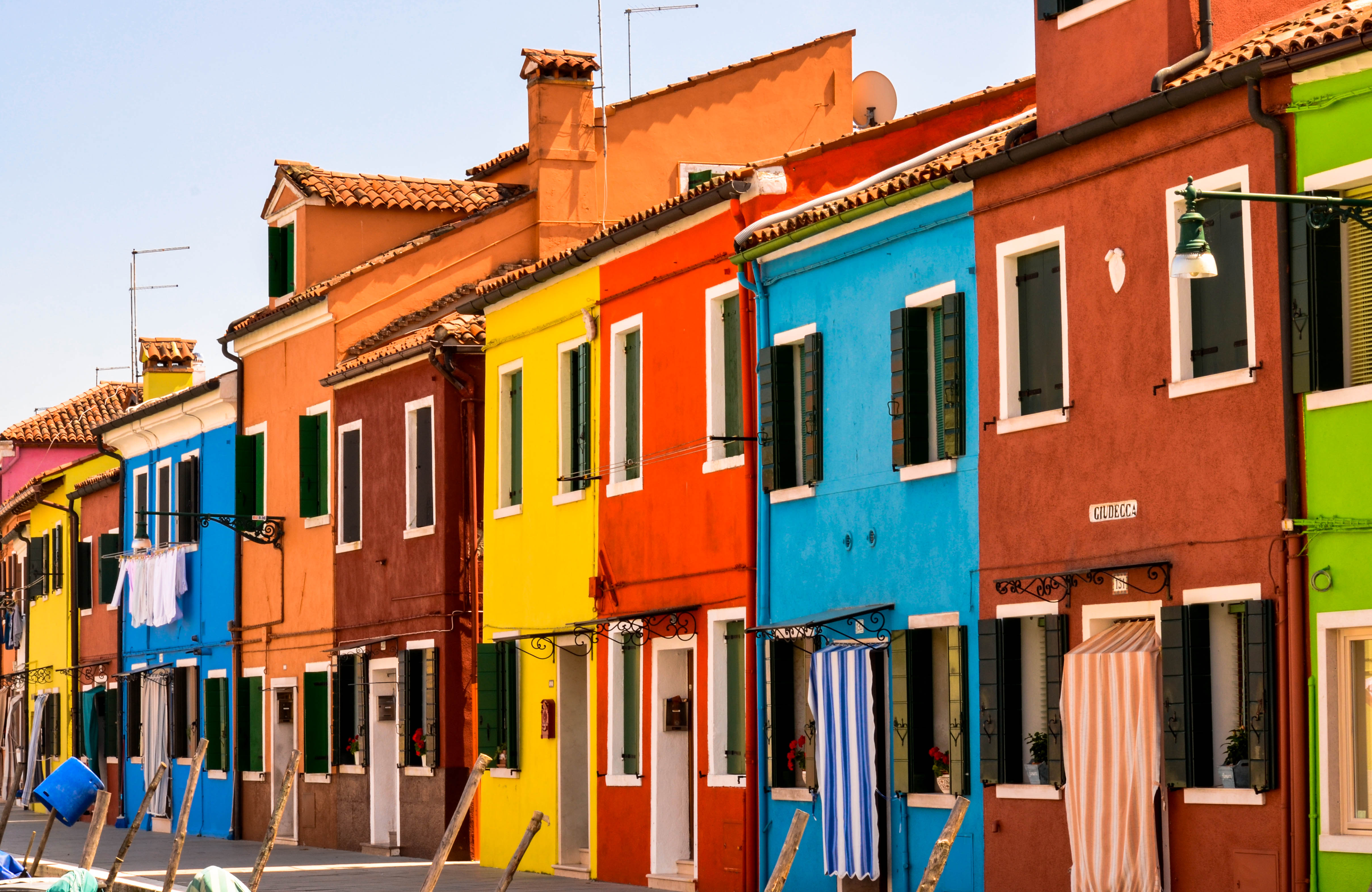 Colorful House Wallpaper