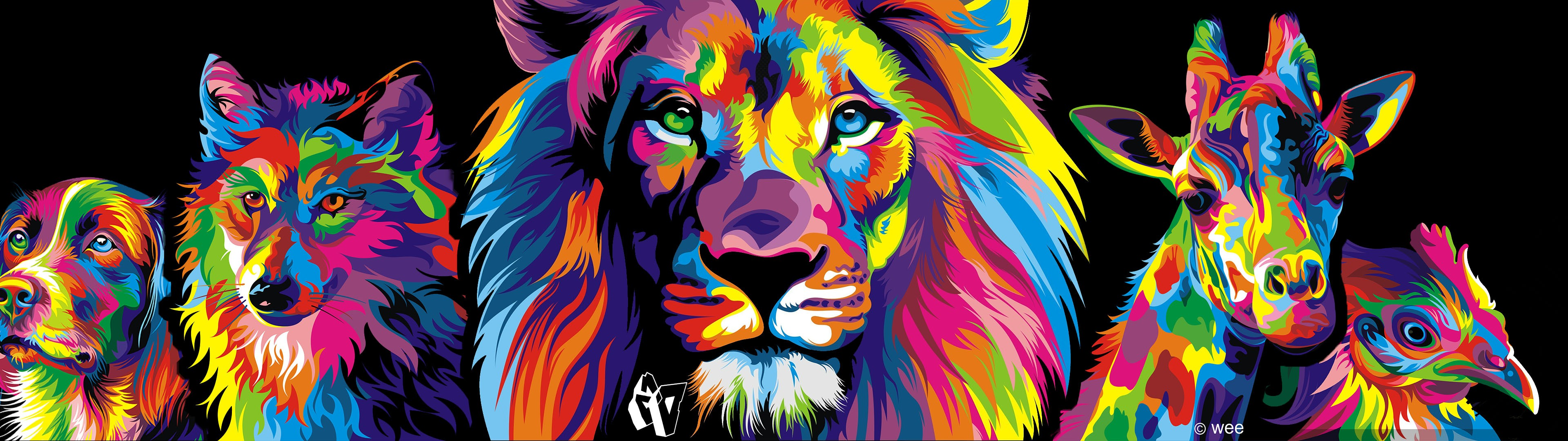 Colorful wallpapers for desktop