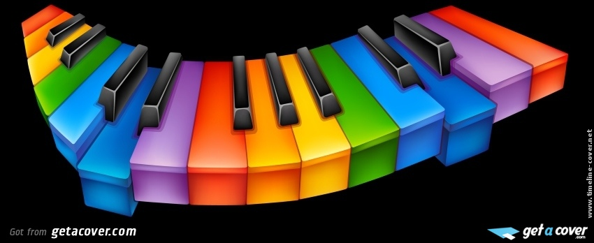 Download Rainbow Piano Keys Wallpapers To Your Cell Phone