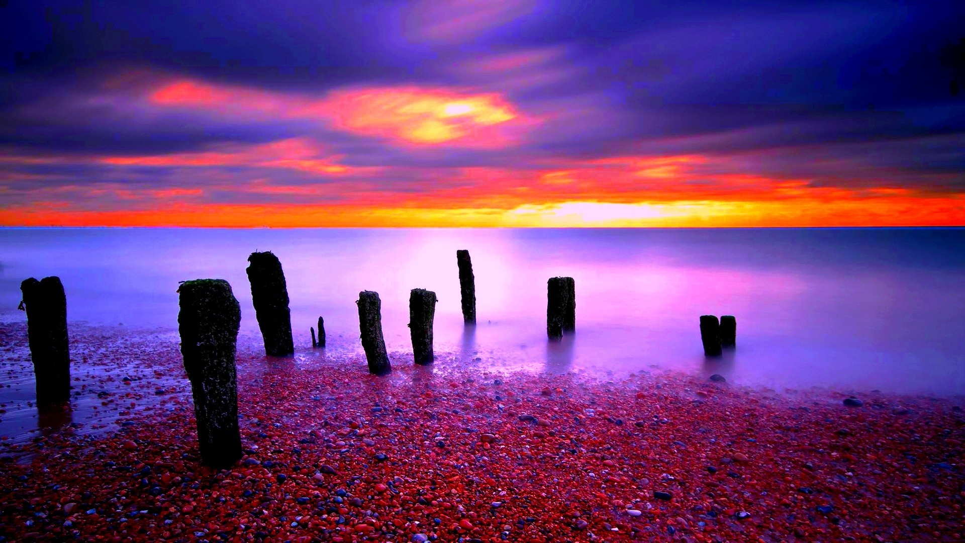 Download Colorful Sunset Wallpaper Gallery