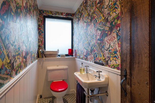 Stunning Comic Book Wallpaper For Bedroom Images Home Design