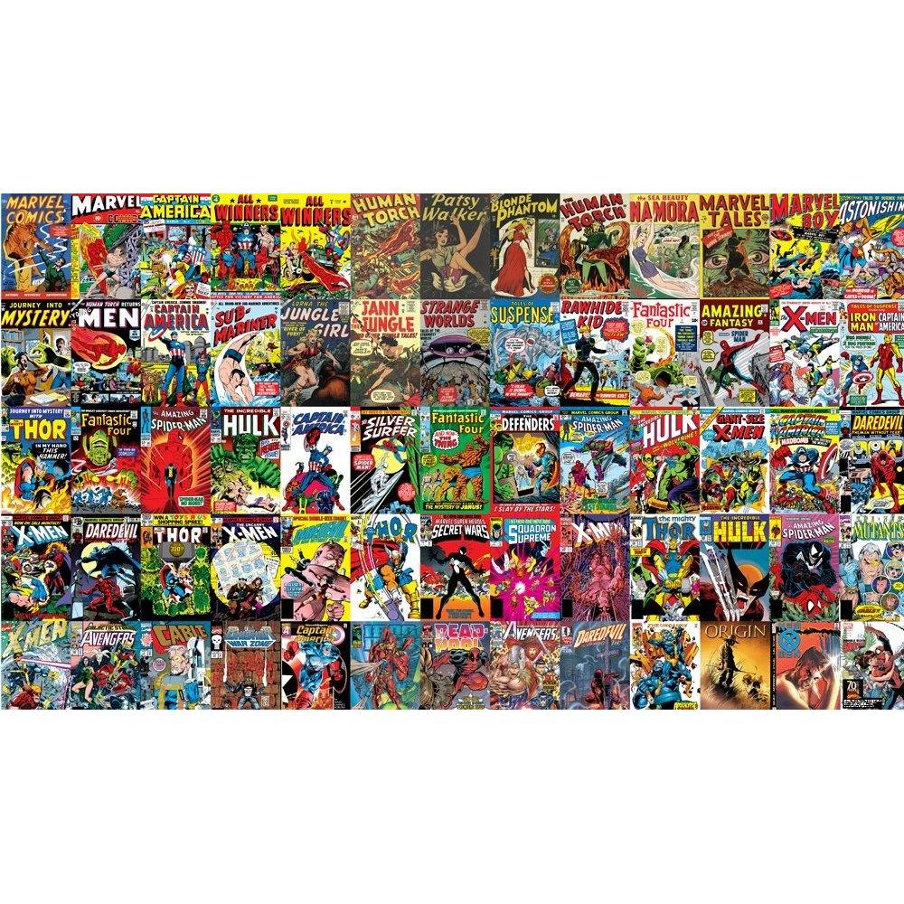 Comic Book Pages Wallpaper