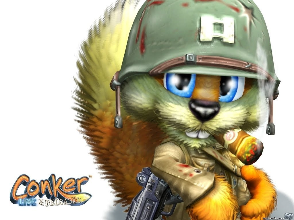 Conker Live And Reloaded Wallpaper