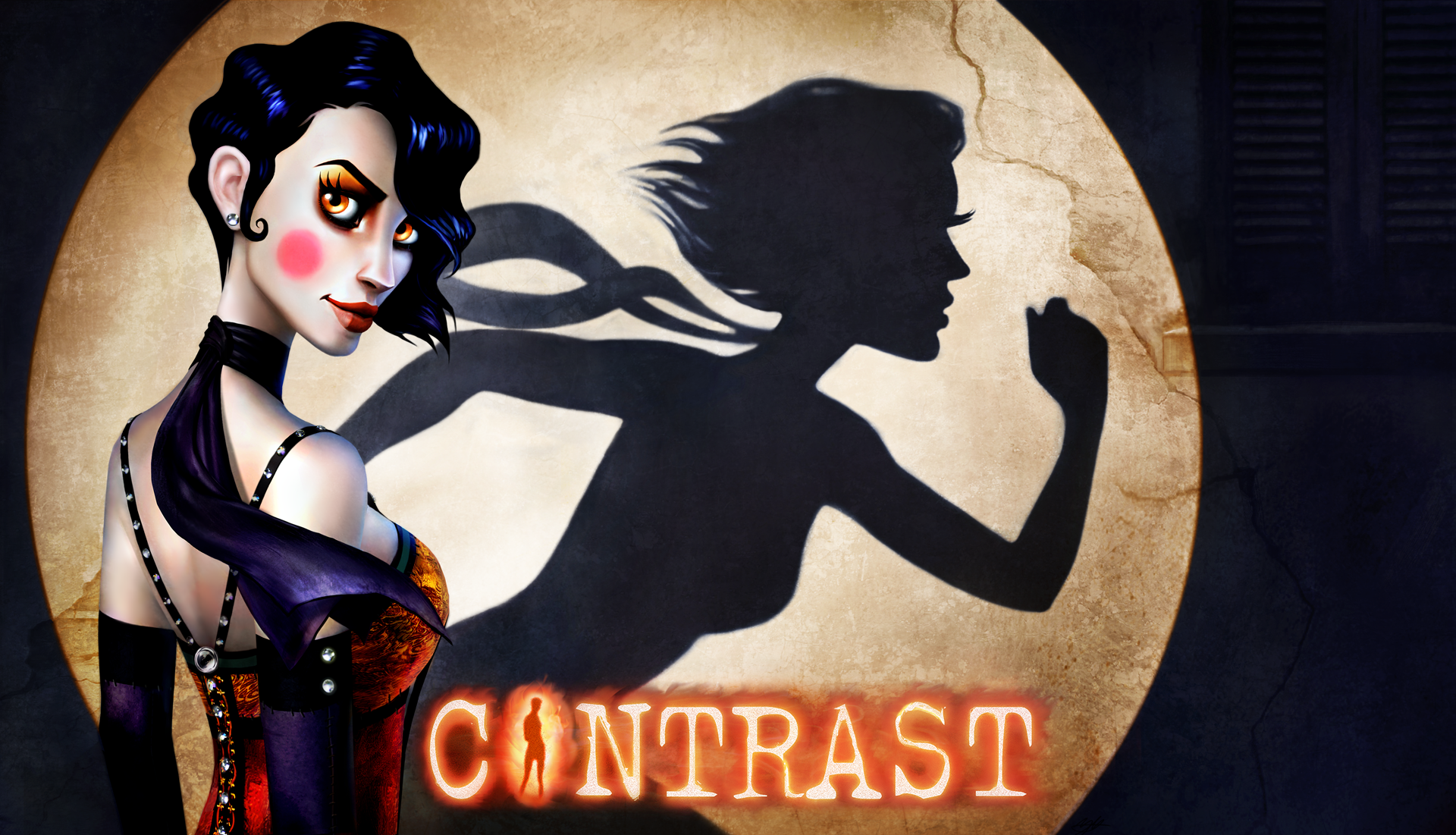 Contrast Game Wallpaper
