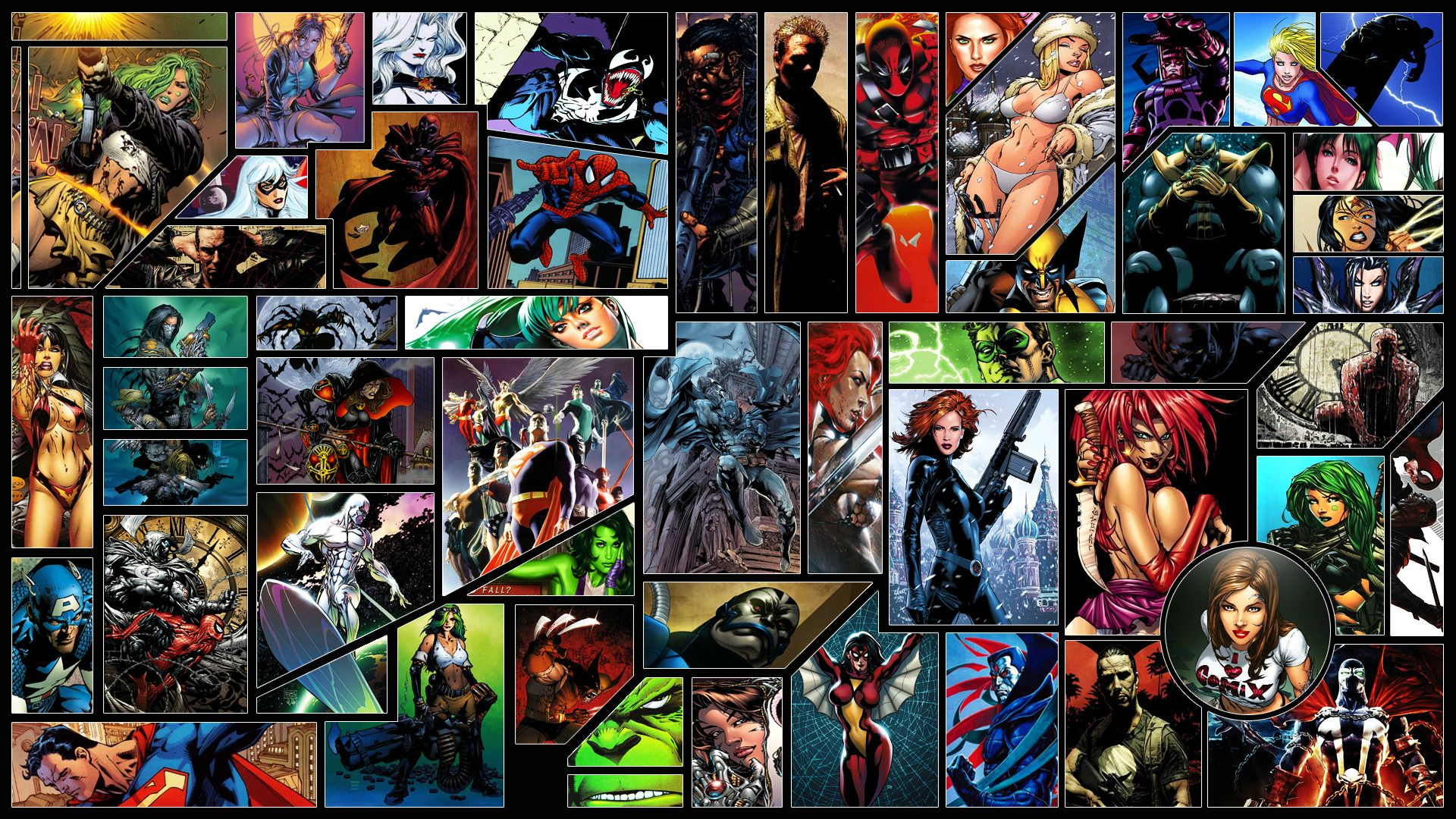 Cool Comic Book Wallpapers