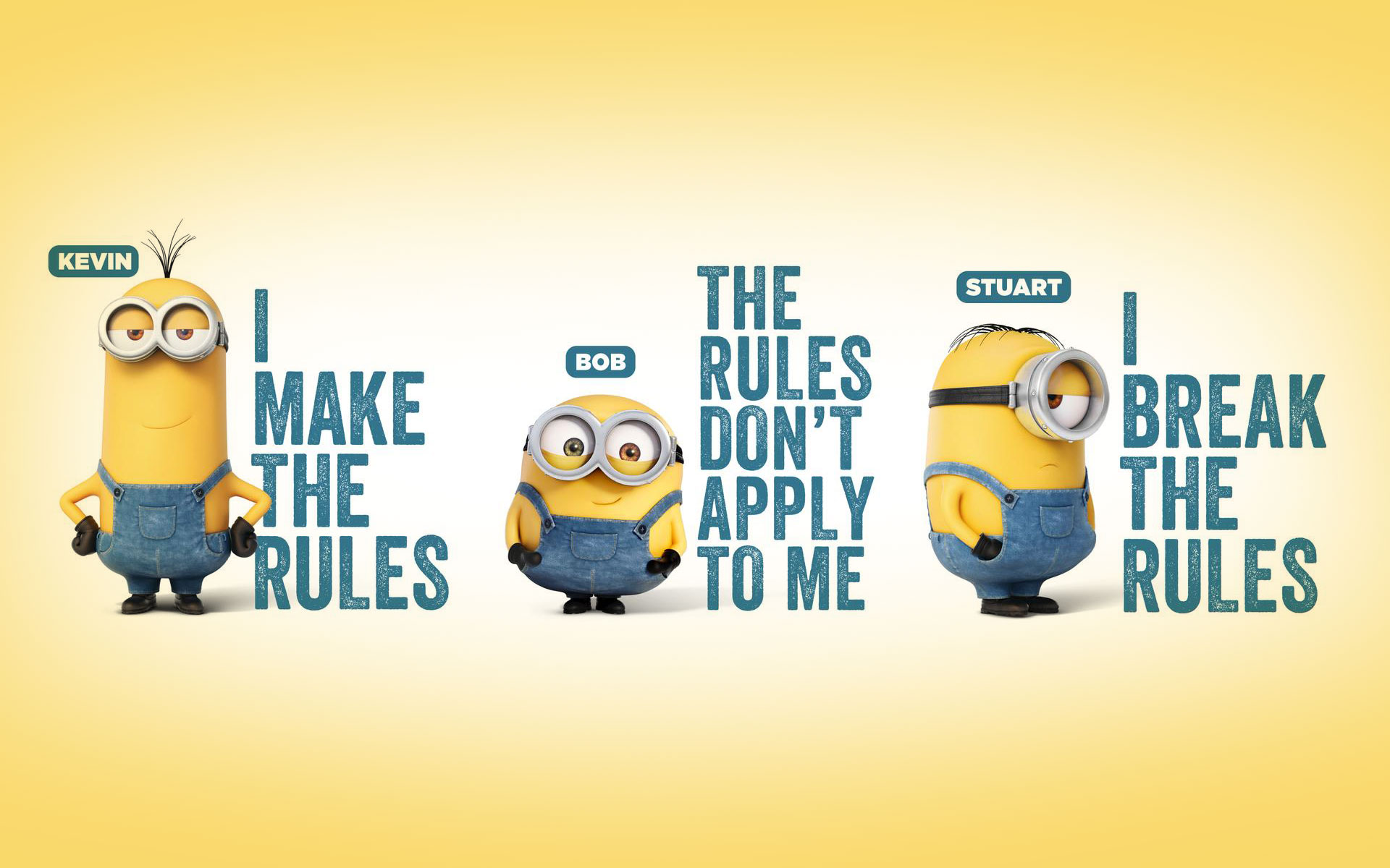 Cool Minions Wallpaper