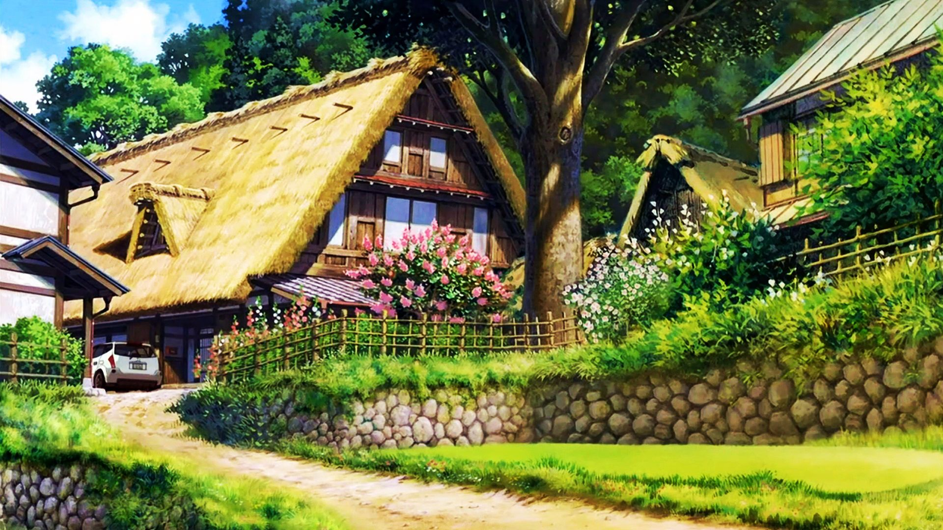 Cottage Wallpaper