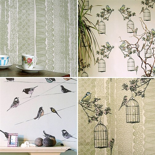 Cottage Wallpaper Ideas