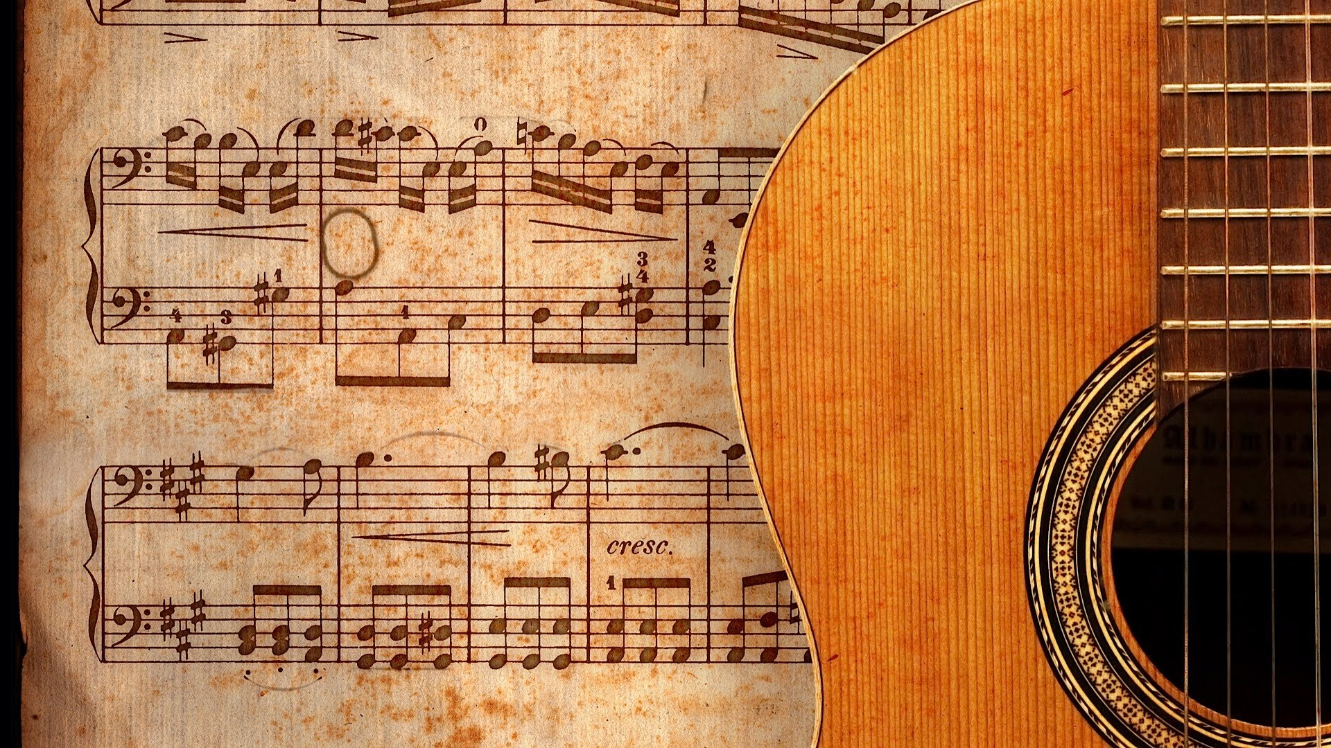 Download Country Guitar Wallpaper Gallery