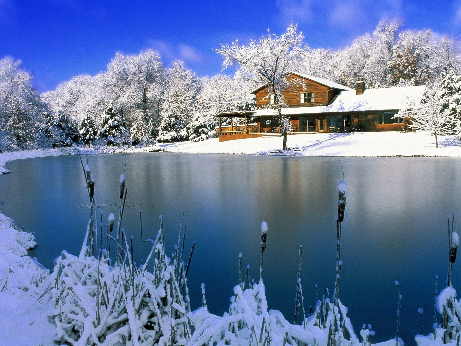 Country Winter Wallpaper